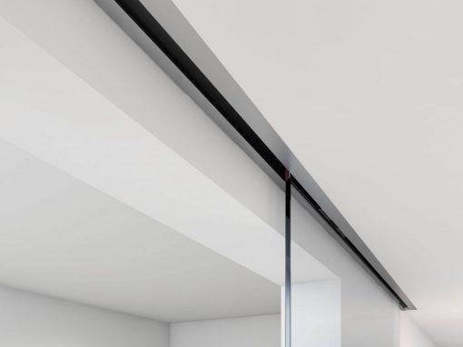 Foto 3 de puerta corredera de la marca Klein, modelo Unikglass+, en cristalería JCD de Madrid