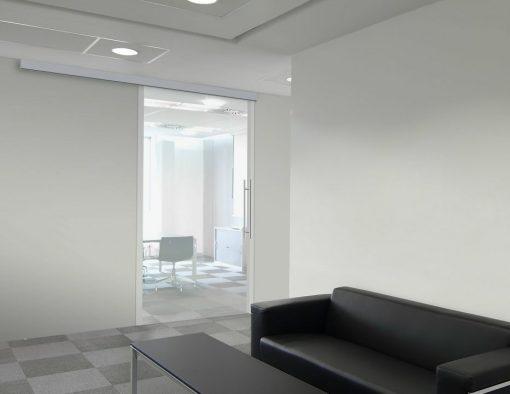 Foto 5 de puerta corredera de la marca Klein, modelo Unikglass+, en cristalería JCD de Madrid