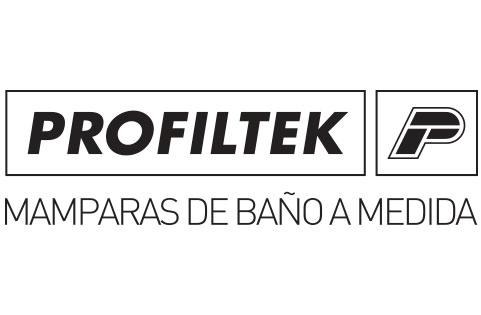 Banner de la marca Profiltek en la web Cristalería JCD de Madrid