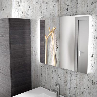 Foto de espejo de la marca Salgar, modelo Candem, en cristalería JCD de Madrid