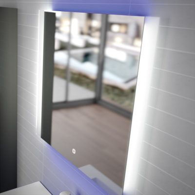 Foto de espejo de la marca Salgar, modelo Toulouse, en cristalería JCD de Madrid